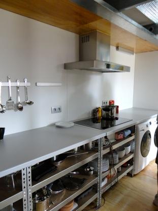 A compact kitchen