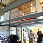 Inside the E-Cube, 2011 Solar Decathlon