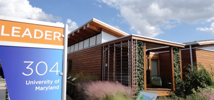 Solar Decathlon Winning House from Maryland