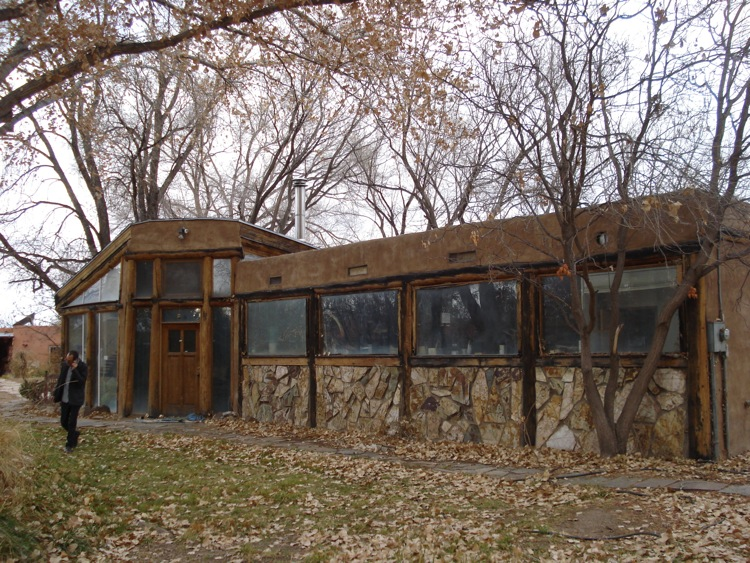 Passive Solar Shed