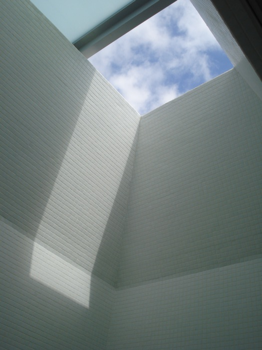 Angled skylight