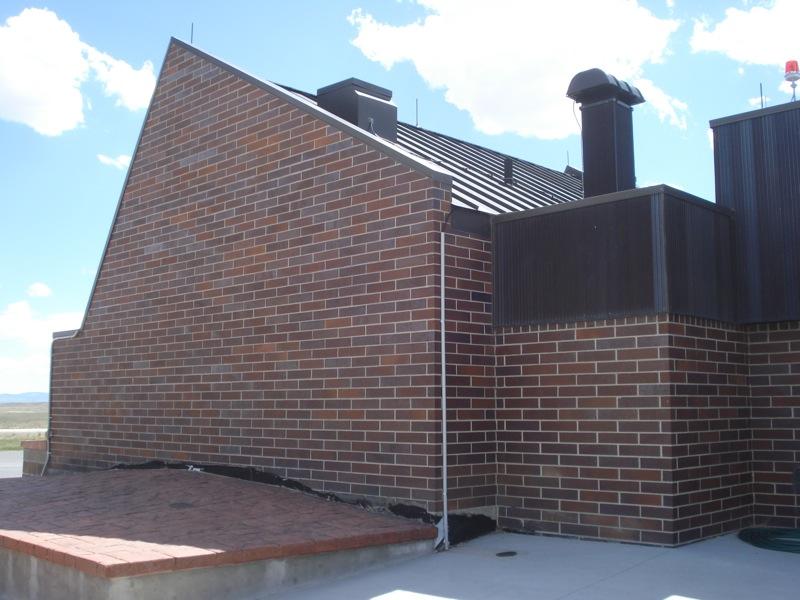 Waltman angled roof and windows