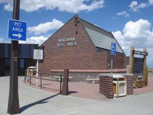 Bridger Road Waltman Rest Area Green Passive Solar