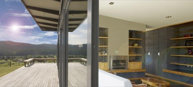 Mercer, New Zealand.Green Living House.